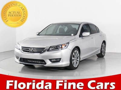 Used HONDA ACCORD 2015 WEST PALM SPORT