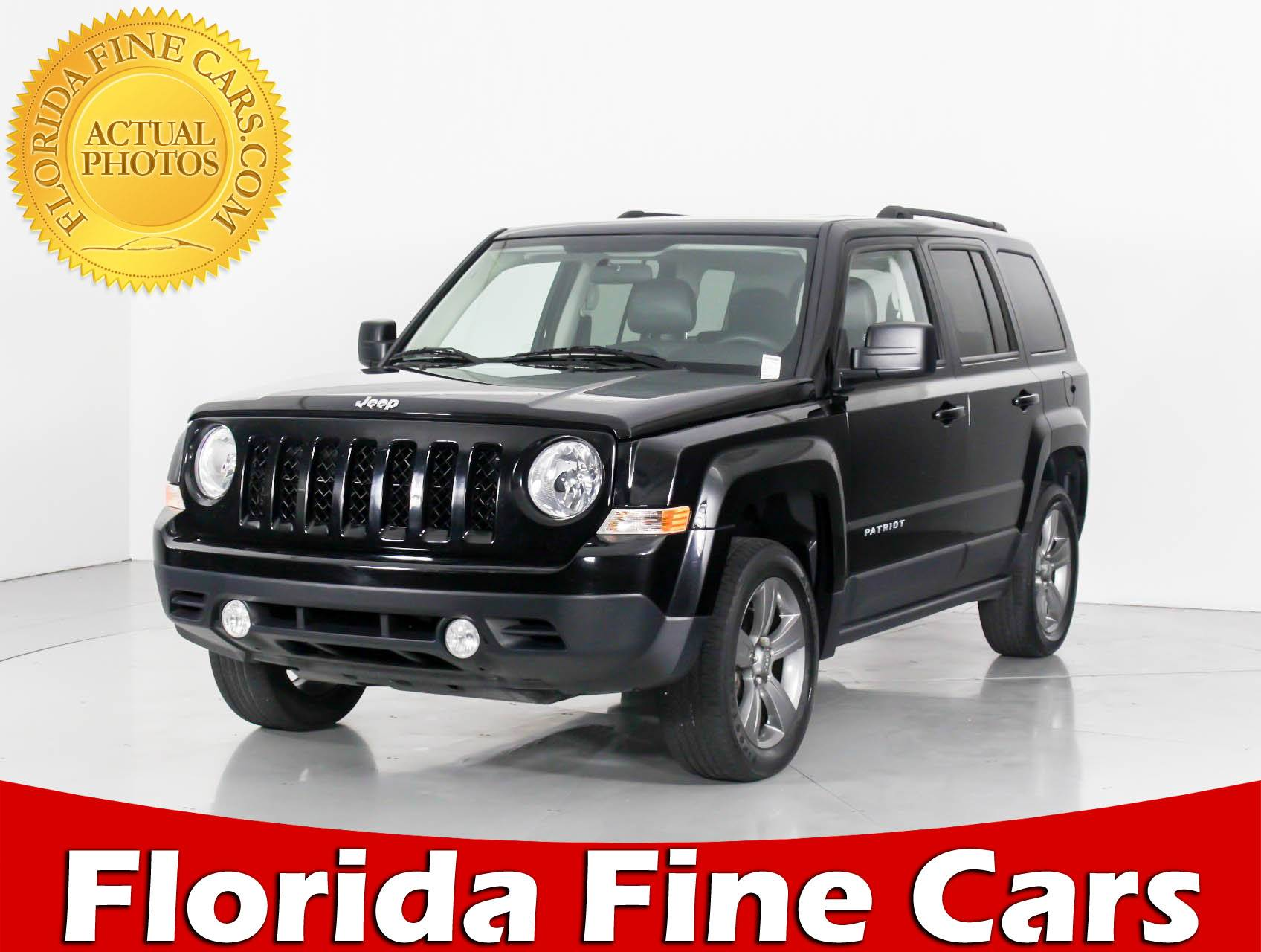 Used 2015 JEEP PATRIOT Latitude 4x4 SUV for sale in HOLLYWOOD, FL