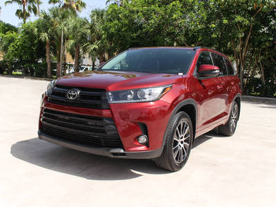 Used TOYOTA HIGHLANDER 2017 MARGATE Se Awd