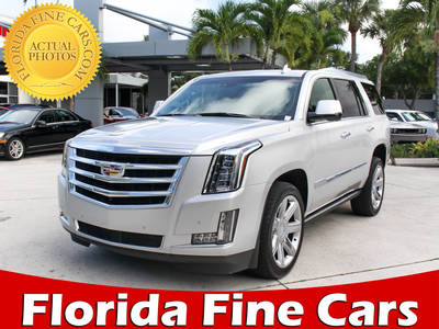 Used CADILLAC ESCALADE 2015 WEST PALM PREMIUM