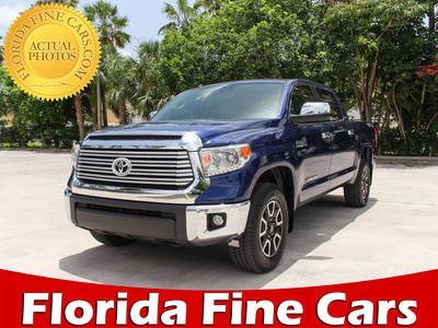 Used TOYOTA TUNDRA 2015 MARGATE Limited Crewmax 4x4