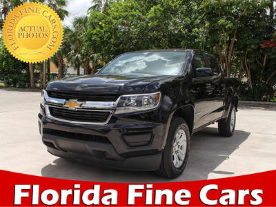 Used CHEVROLET COLORADO 2018 MARGATE LT