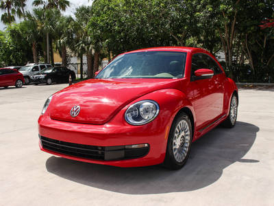 Used VOLKSWAGEN BEETLE 2015 WEST PALM 1.8T