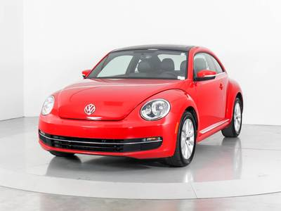 Used VOLKSWAGEN BEETLE 2014 WEST PALM TDI