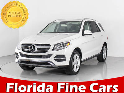 Used MERCEDES-BENZ GLE-CLASS 2017 WEST PALM GLE350
