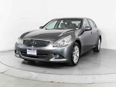 Used INFINITI G25X 2012 WEST PALM Awd