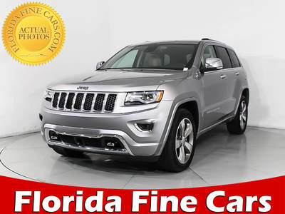 Used JEEP GRAND-CHEROKEE 2015 MIAMI OVERLAND