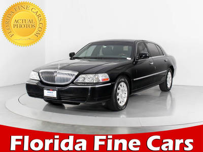 Used Lincoln Town Car For Sale In Miami Hollywood West Palm Beach