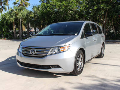 Used HONDA ODYSSEY 2013 WEST PALM Ex-L Handicap Van