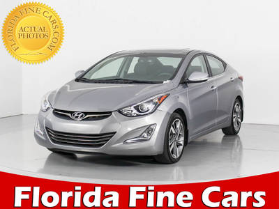 Used HYUNDAI ELANTRA 2015 WEST PALM Limited