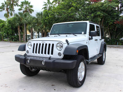 Used JEEP WRANGLER-UNLIMITED 2015 MARGATE SPORT