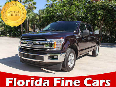 Used FORD F-150 2018 MARGATE Xlt