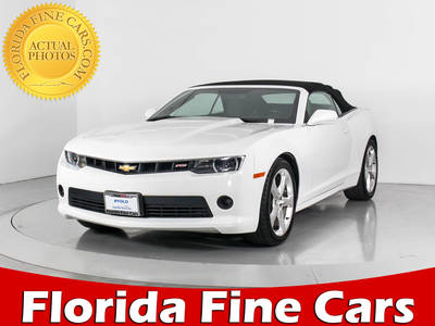 Used CHEVROLET CAMARO 2014 WEST PALM 2LT