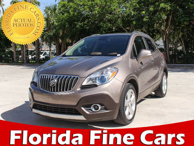 Used BUICK ENCORE 2015 MARGATE LEATHER
