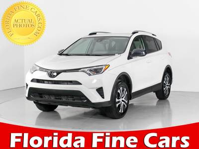 Used TOYOTA RAV4 2018 WEST PALM LE