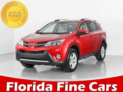 Used TOYOTA RAV4 2014 WEST PALM XLE
