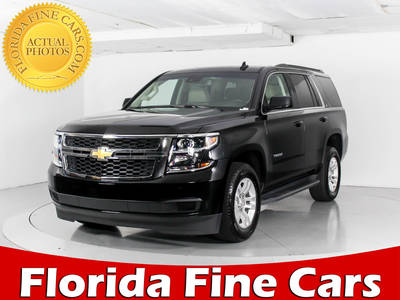 Used CHEVROLET TAHOE 2018 WEST PALM LT