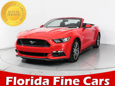 Used FORD MUSTANG 2017 MIAMI Gt Premium