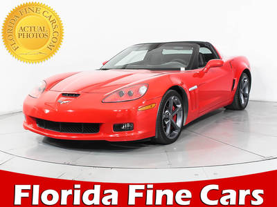 Used CHEVROLET CORVETTE 2012 MIAMI GRAND SPORT 1LT