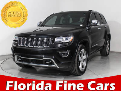 Used JEEP GRAND-CHEROKEE 2014 MIAMI OVERLAND