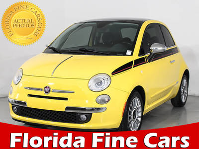 Used FIAT 500 2012 MIAMI LOUNGE