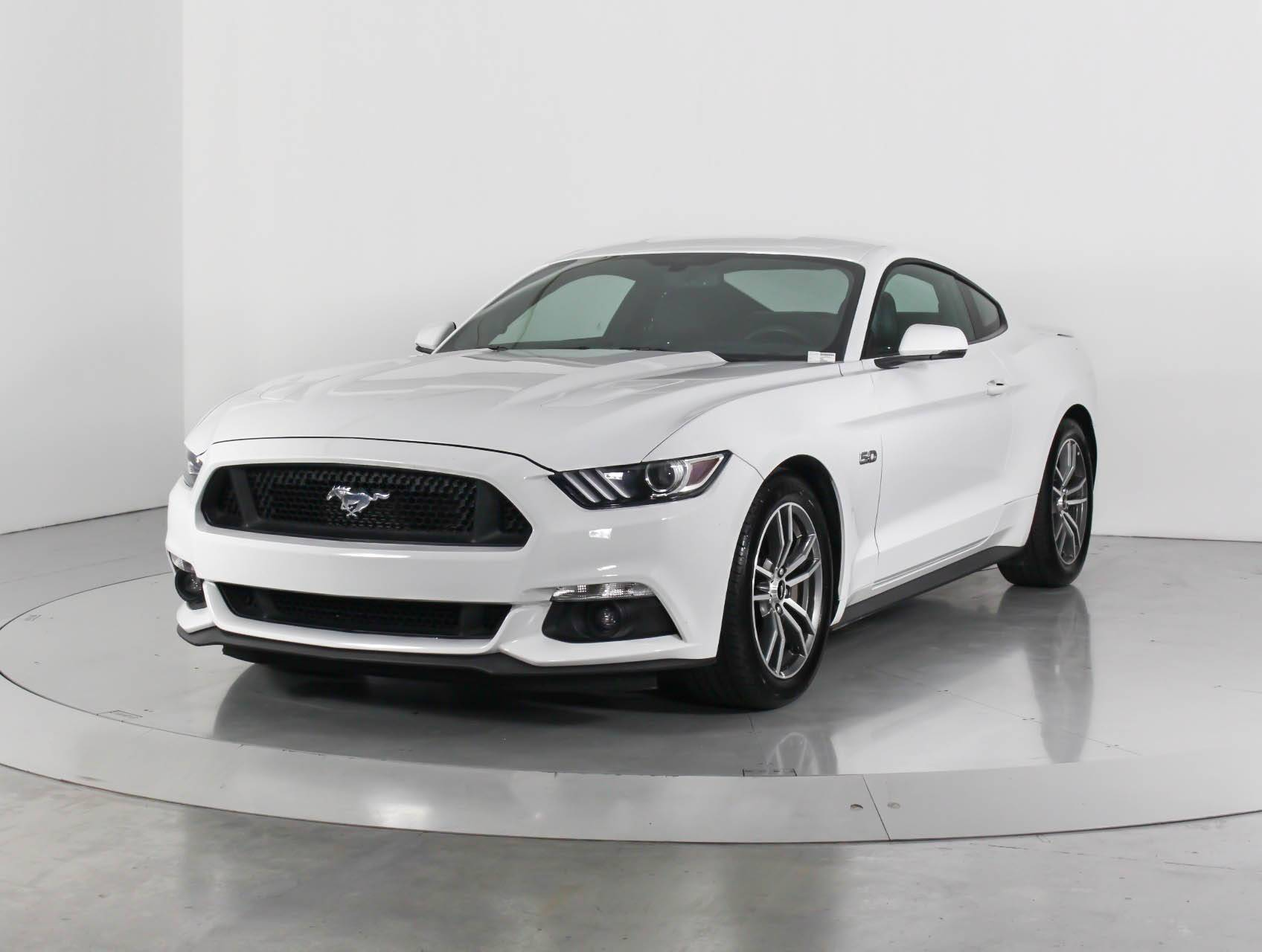 Used 2017 ford mustang gt premium coupe for sale in west palm fl