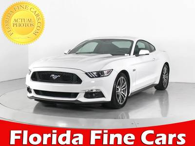 Used FORD MUSTANG 2017 WEST PALM Gt Premium