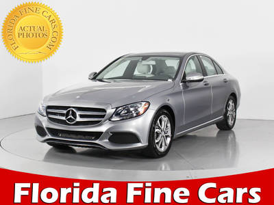 Used MERCEDES-BENZ C-CLASS 2015 WEST PALM C300