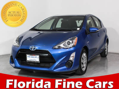 Used TOYOTA PRIUS-C 2015 HOLLYWOOD Two