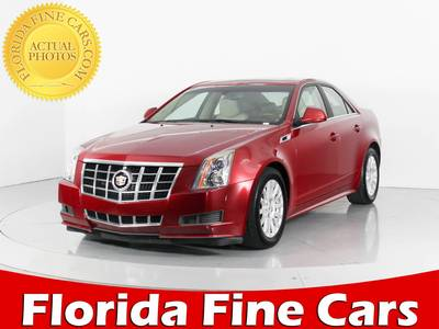 Used CADILLAC CTS 2012 WEST PALM LUXURY