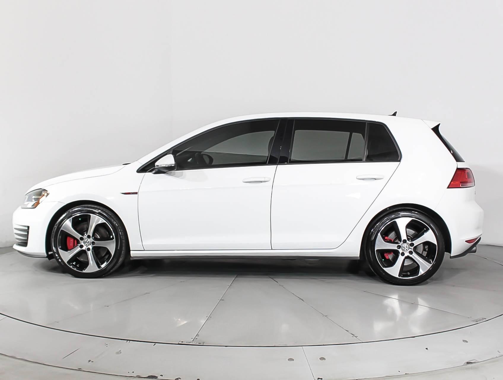 Used 2015 Volkswagen Gti Autobahn Performance Hatchback For Sale In