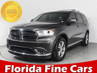 Used DODGE DURANGO 2015 HOLLYWOOD LIMITED