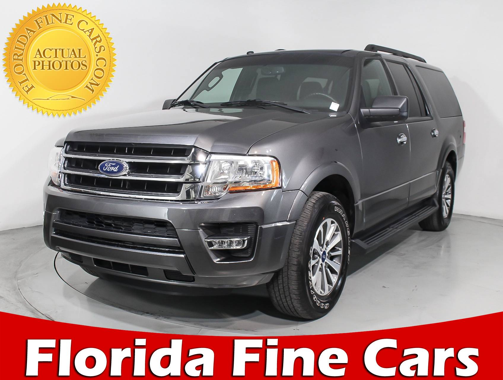Used 2017 ford expedition el xlt suv for sale in miami fl 97200 florida fine cars