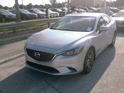 Used MAZDA MAZDA6 2016 WEST PALM GRAND TOURING