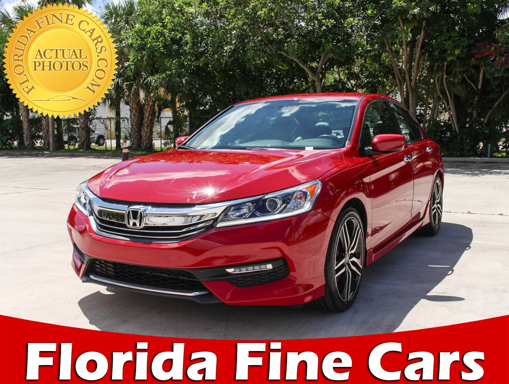 Used 2017 HONDA ACCORD SPORT Sedan For Sale In HOLLYWOOD, FL | 97220 |  Florida Fine Cars