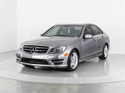 Used MERCEDES-BENZ C-CLASS 2014 WEST PALM C300 4MATIC