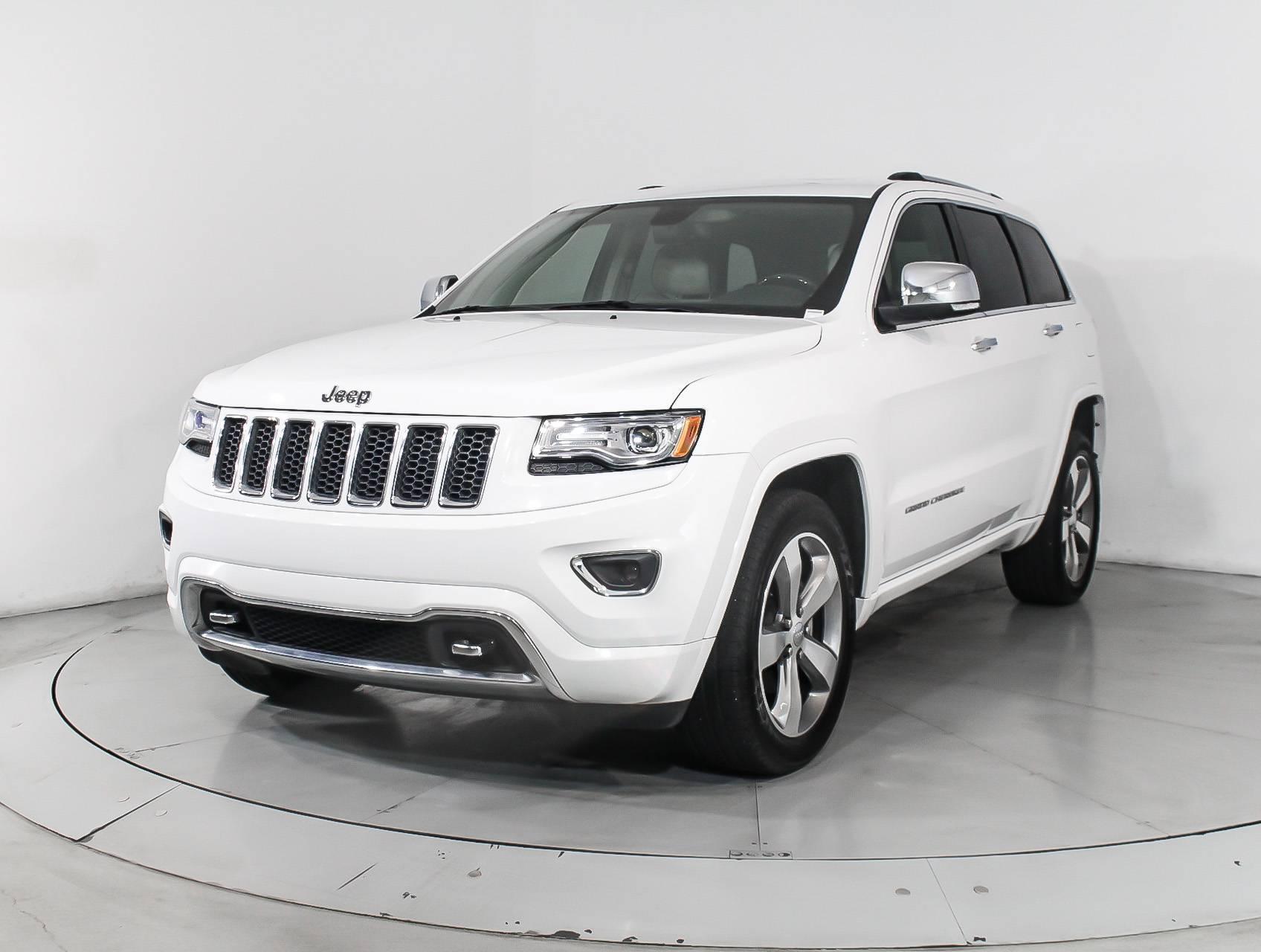 Used 2014 Jeep Grand Cherokee Overland Suv For Sale In Miami Fl