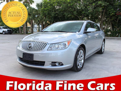 Used BUICK LACROSSE 2010 WEST PALM CXL