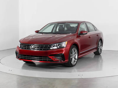 Used VOLKSWAGEN PASSAT 2017 WEST PALM 1.8T R-LINE