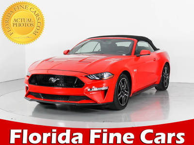 Used FORD MUSTANG 2018 WEST PALM Gt Premium