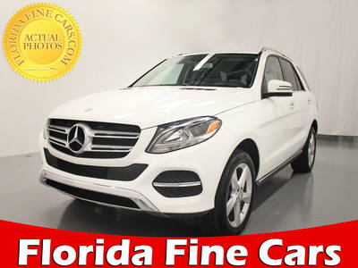 Used MERCEDES-BENZ GLE-CLASS 2016 HOLLYWOOD GLE350