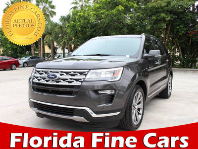 Used FORD EXPLORER 2018 MARGATE LIMITED
