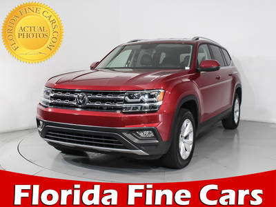 Used VOLKSWAGEN ATLAS 2018 HOLLYWOOD SE