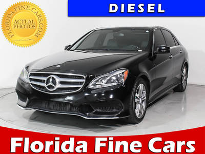 Used MERCEDES-BENZ E-CLASS 2015 HOLLYWOOD E250 BLUETEC