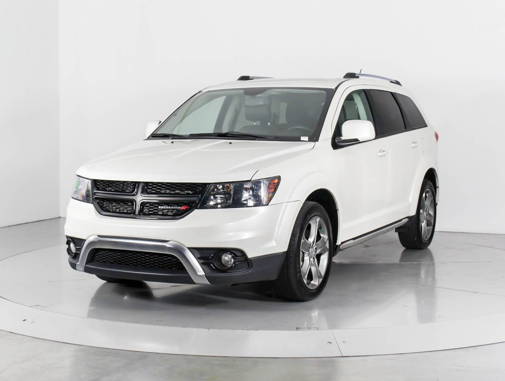 Used 2016 Dodge Journey Crossroad Suv For In West Palm Fl 97479 Florida Fine Cars