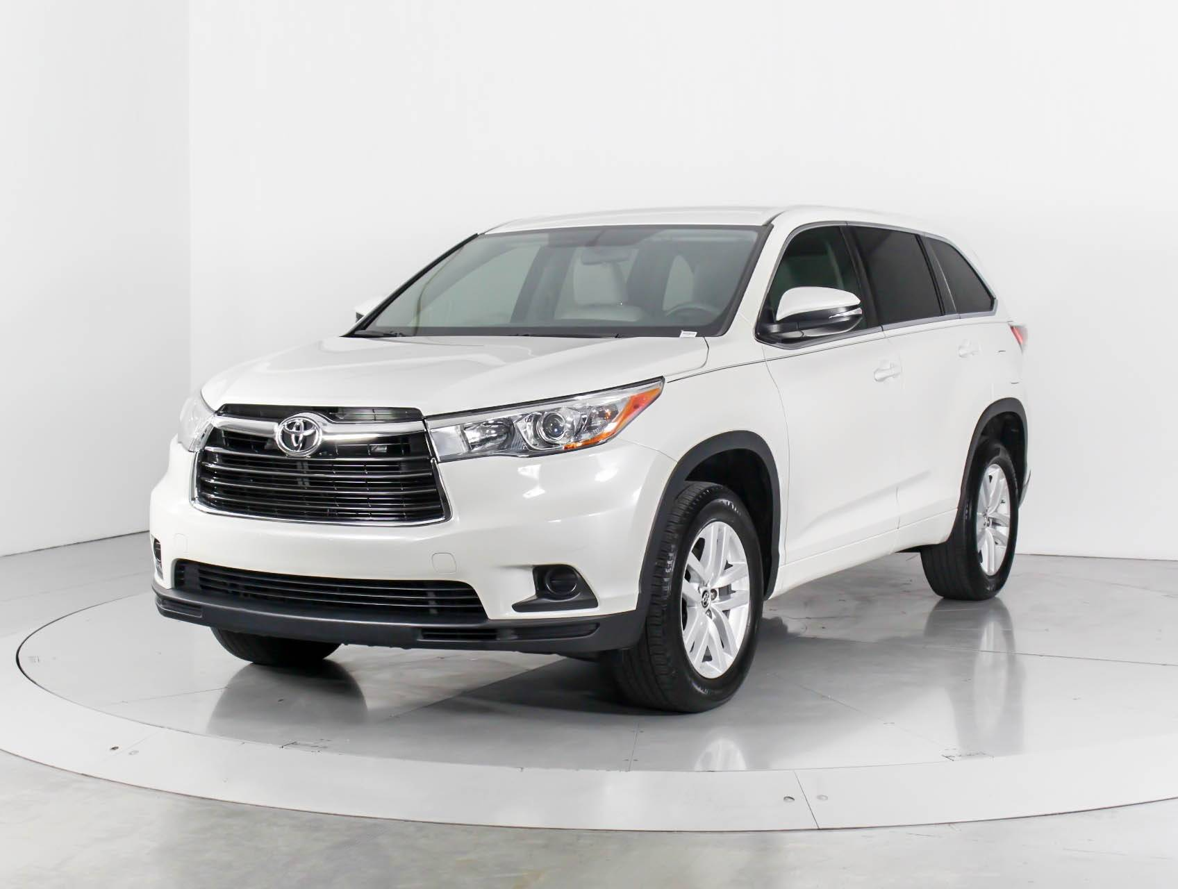 Used 2016 Toyota Highlander Le V6 Suv For In West Palm Fl 97487 Florida Fine Cars