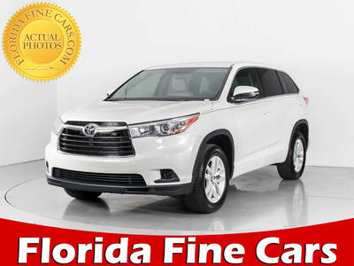 Used TOYOTA HIGHLANDER 2016 WEST PALM Le V6