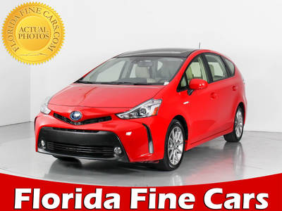 Used TOYOTA PRIUS-V 2017 WEST PALM Five