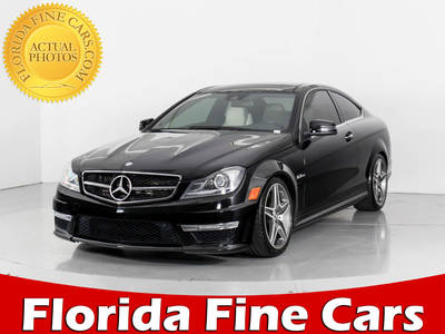 Used MERCEDES-BENZ C-CLASS 2012 WEST PALM C63 AMG