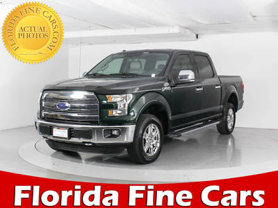 Used FORD F-150 2016 WEST PALM Lariat Supercrew 4x4